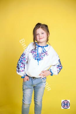 Вишита блузка для дівчинки МАТУСИНА ПТАШКА
