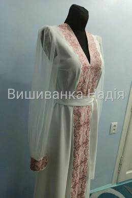 Вишита жіноча сукня МЕЛОДІЯ ДВОХ СЕРДЕЦЬ