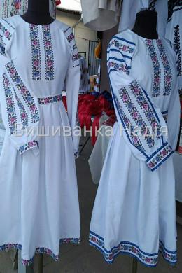Вишита жіноча сукня ЯБЛУНЕВИЙ ЦВІТ