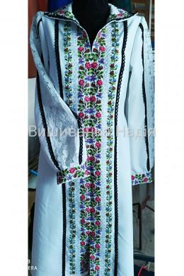 Вишита жіноча сукня КВІТКОВИЙ РОЗМАЙ