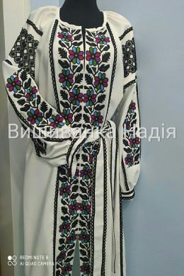 Вишита жіноча сукня БОРЩІВКА ВИШУКАНІСТЬ