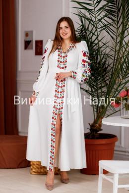 Вишита жіноча сукня МАГІЯ КВІТІВ
