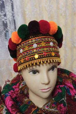 Чільце-корона в кольоровій гаммі(кольорова2)