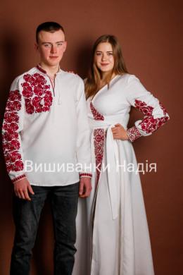 Пара ФЕЄРІЯ ПОЧУТТІВ  в червоному кольорі